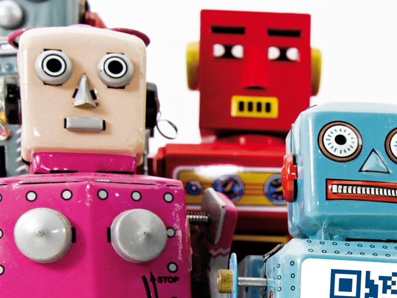 DeLaval, visuel de robots