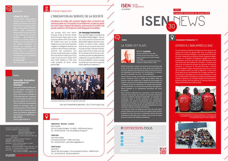 La Newsletter de ISEN