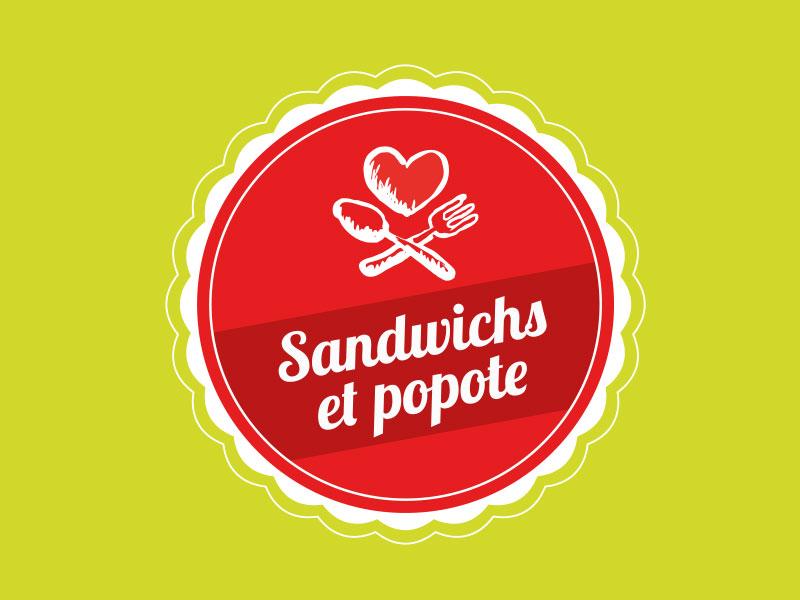 Logo Sandwich & Popote