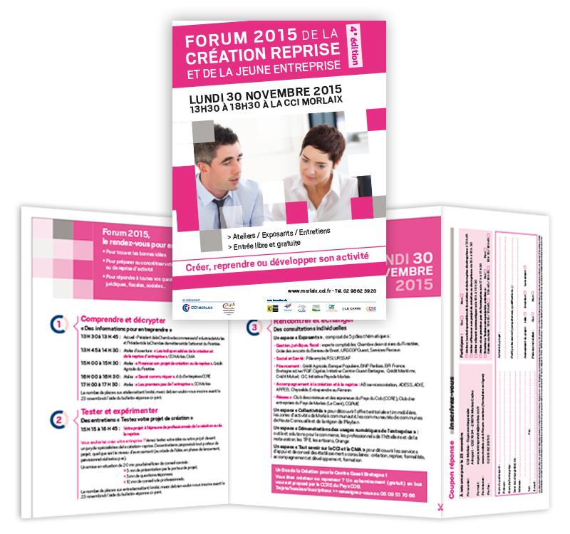 forum création entreprises CCI Morlaix