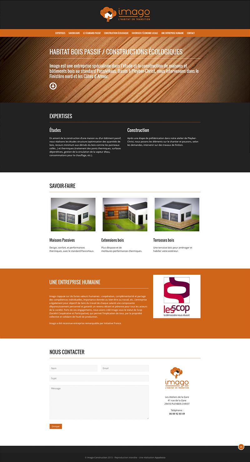 Visuel site internet Imago