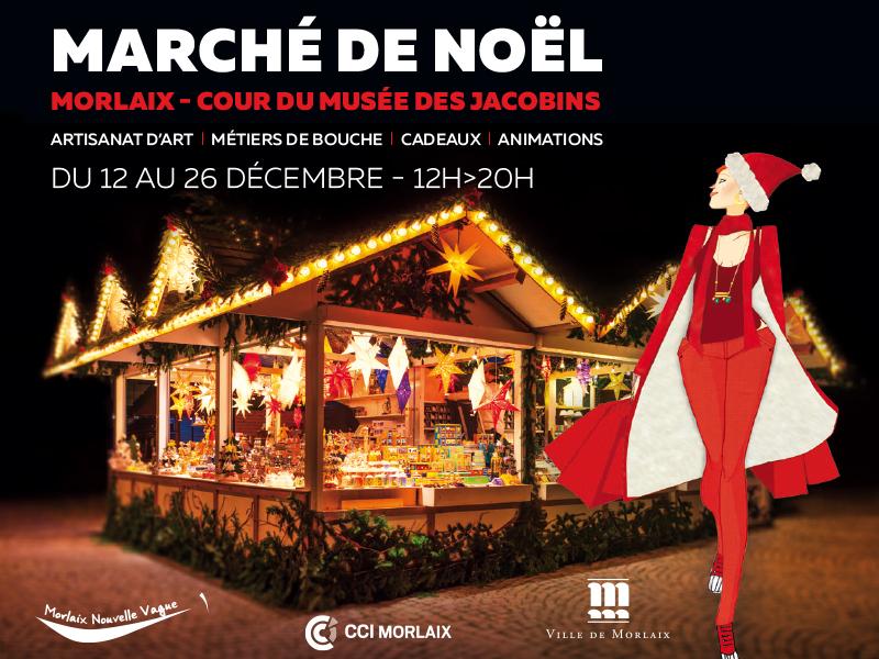 Marché de Noël Morlaix Nouvelle Vague