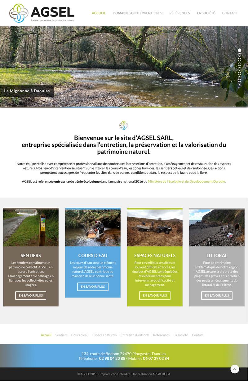 Site web AGSEL
