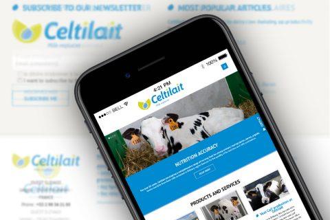 Celtilait Site Web
