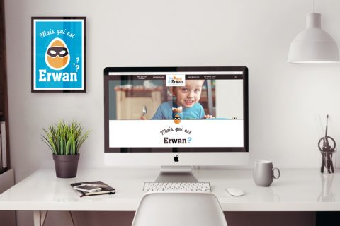 Les œufs d'Erwan – Site Web