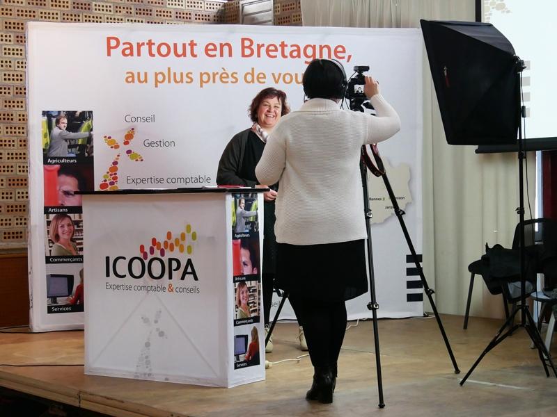 Reportage photo et vidéo à l'assemblée générale d'Icoopa