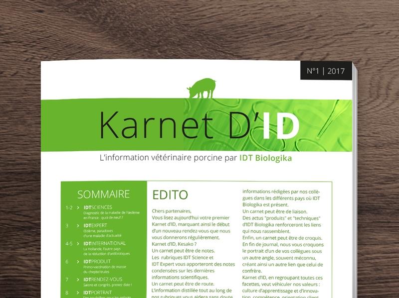 Karnet d'ID pour IDT-Biologika