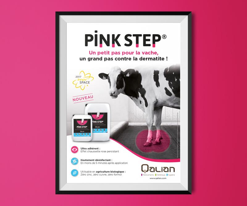 Poster Pinkstep pour Qalian