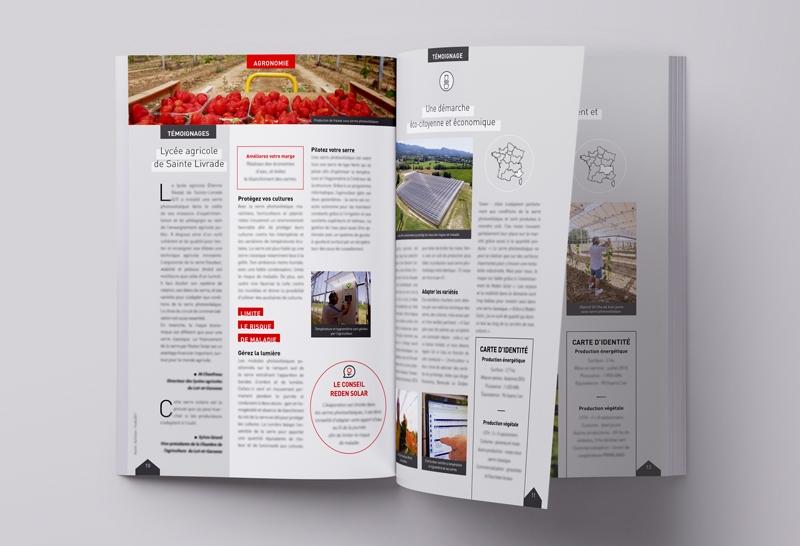 Intérieur de la brochure Reden Solar