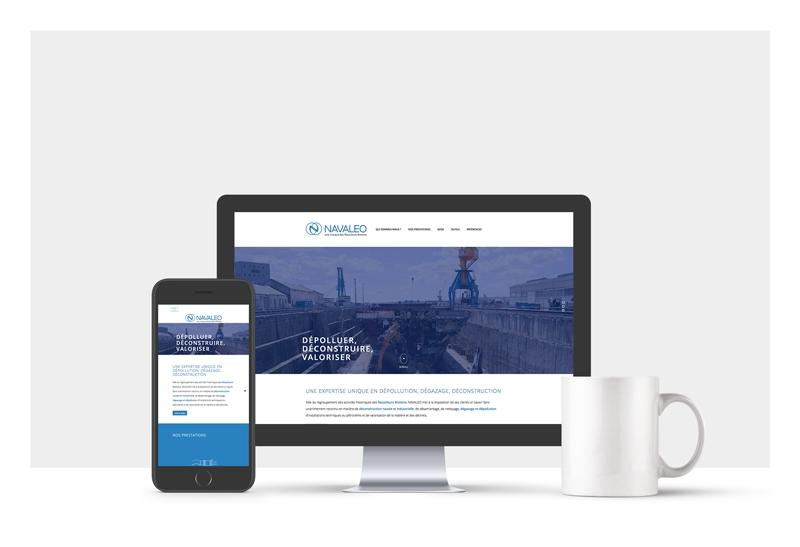Un site responsive web pour Navaleo