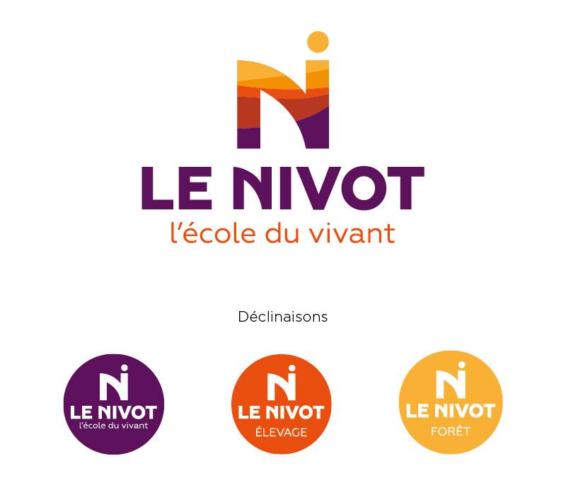 Nouvelle identite l'école agriculture Le Nivot