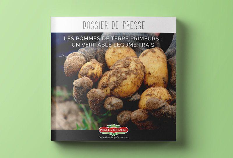 Création par l'agence Appaloosa des dossiers de relation presse Prince de Bretagne