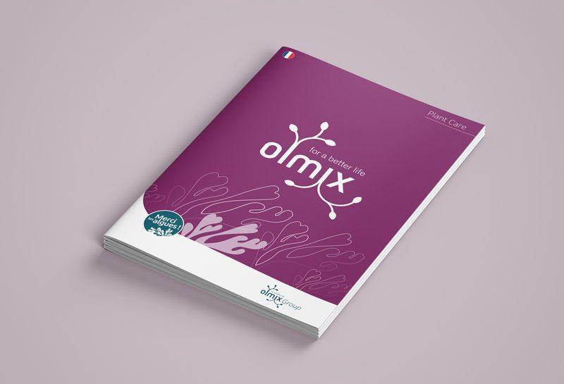 Couverture univers de marque Olmix : une brochure pour le plant care