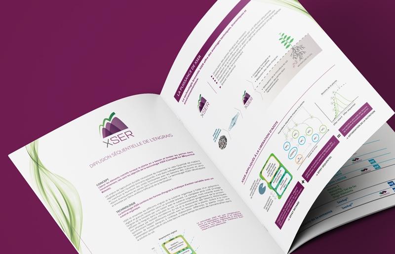 Brochure PLant-Care pour le groupe Olmix - Appaloosa