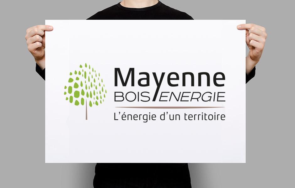 Bois mayenne energie création du logo Appaloosa