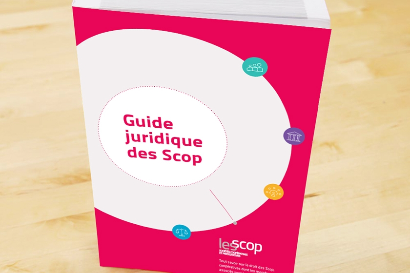 Couverture du Guide Juridique des Scop