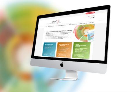 Site internet pour l'expertise de formations et RH de Fedr