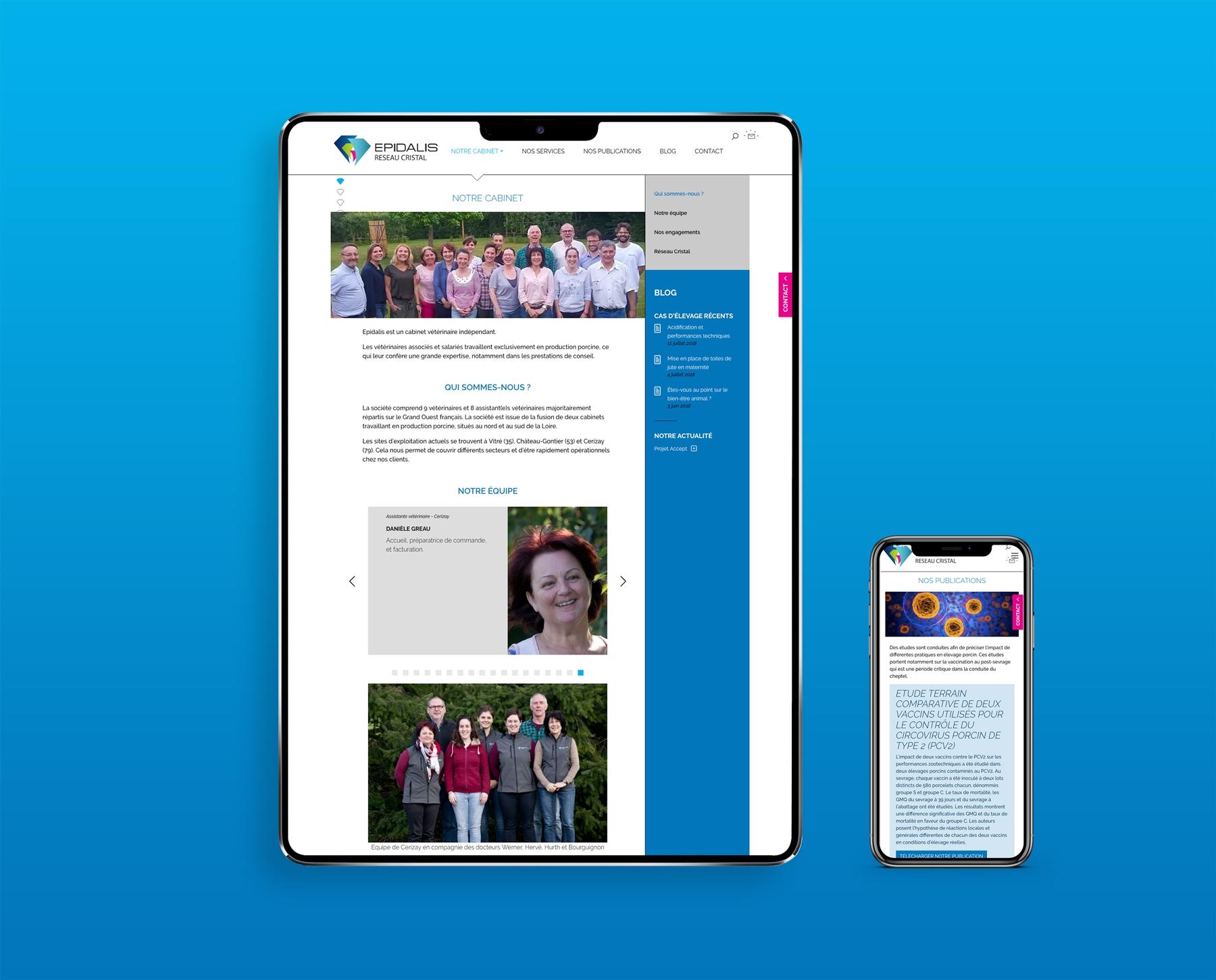 Un site internet et une newsletter pour promouvoir l'expertise d'Epidalis