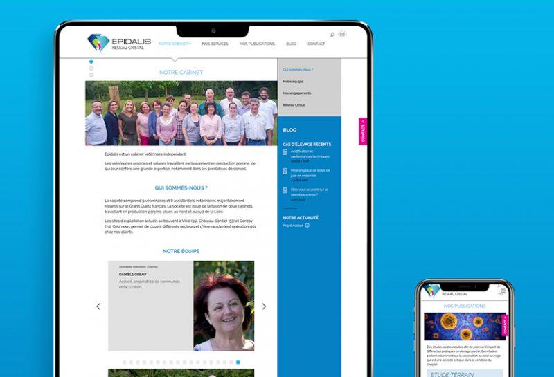 Un site web et une newsletter pour promouvoir l'expertise d'Epidalis