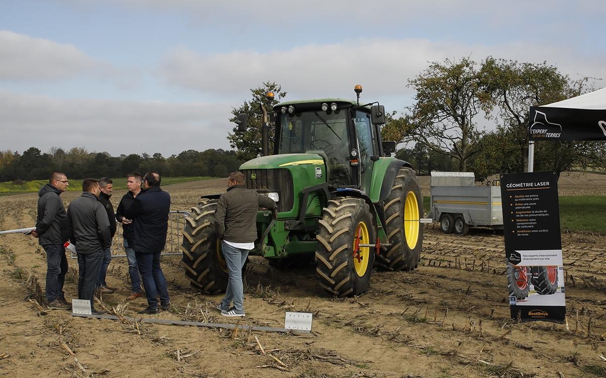 journée technique agricole - BestDrive, spécialiste du pneu, a fait appel à Appaloosa