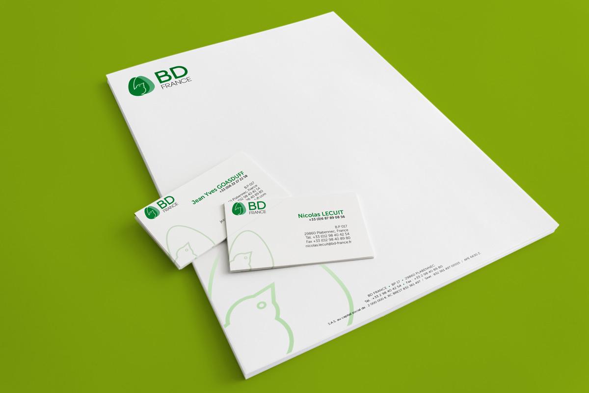 BD France Nouveau logo Agence Appalosa