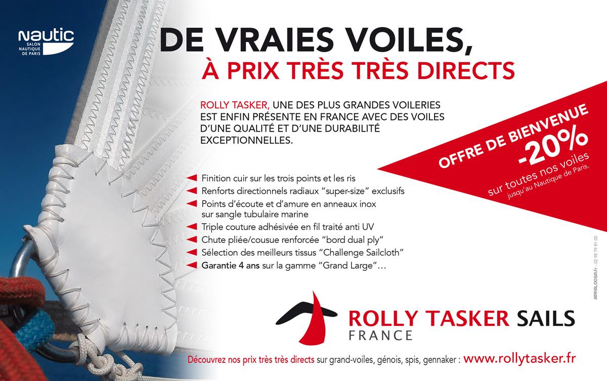 Rolly Tasker encart presse