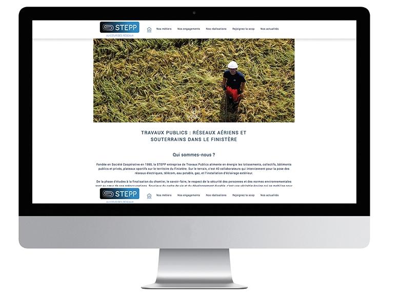 Un site web pour la Stepp