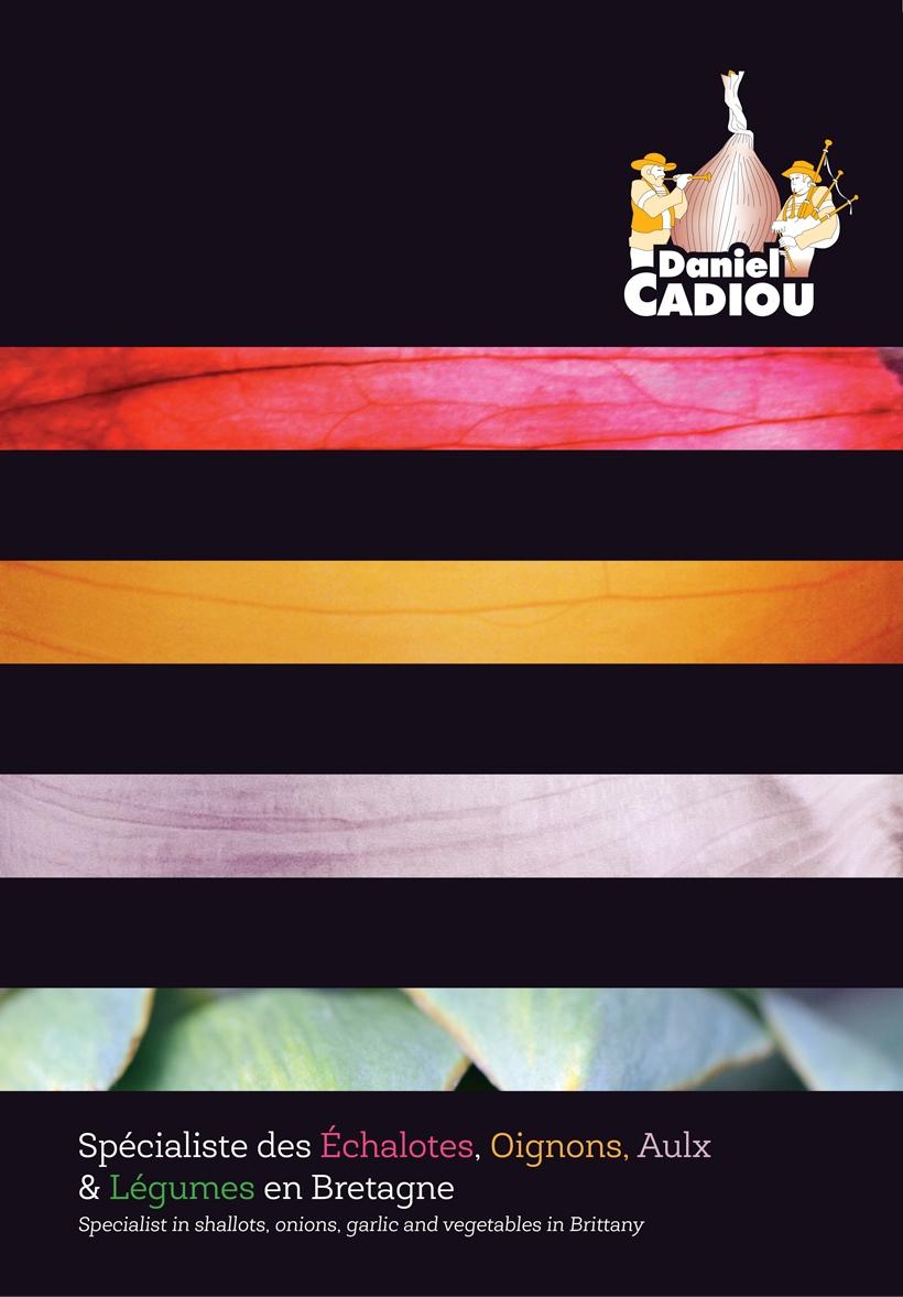 Details chemise à rabats Producteur légumes Cadiou ail oignons ail