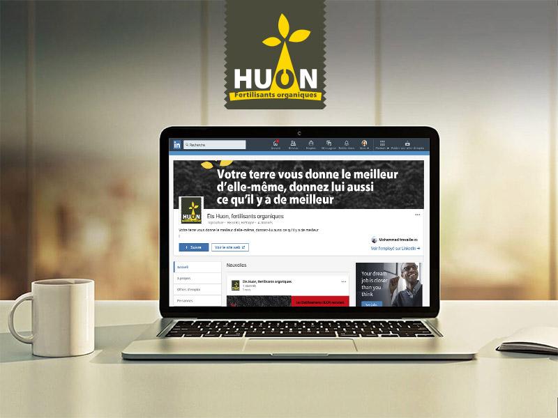 LinkedIn entreprise Huon