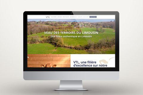 Site internet pour une filière de veaux de qualité