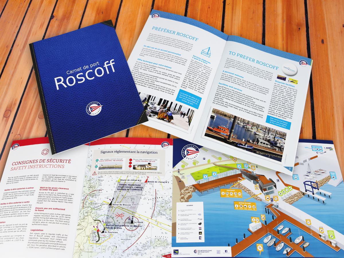 Plaquette port de Roscoff