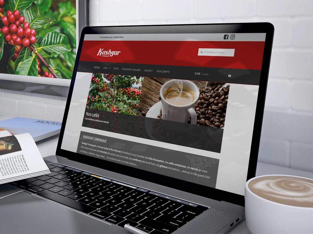 Kashgar Compagnie Thés et cafés