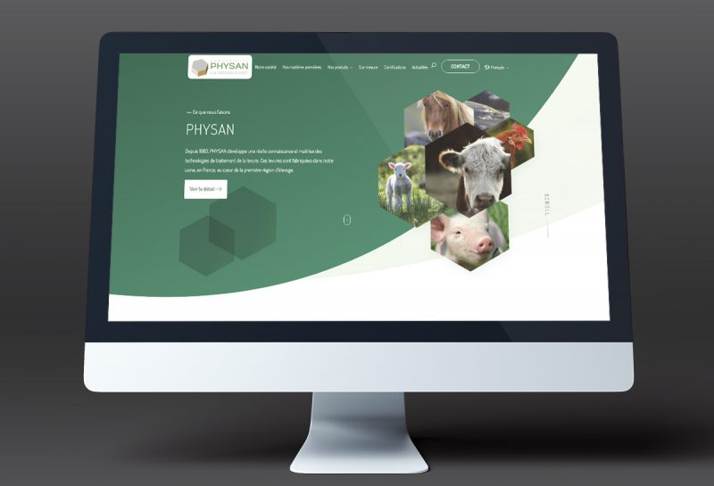 site internet Physan