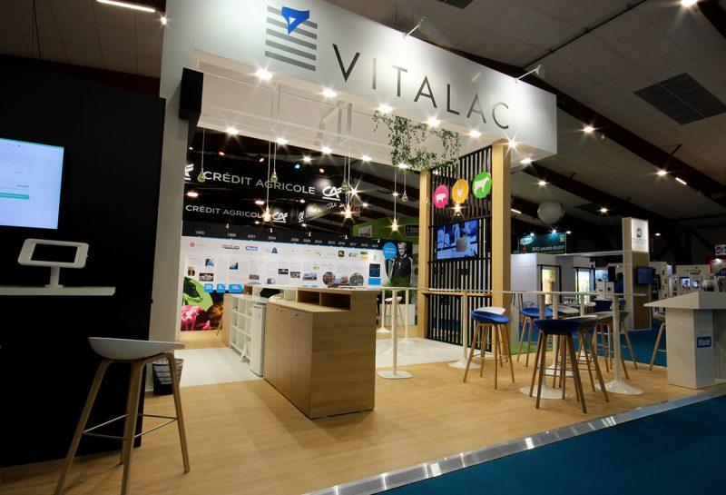 Vue globale du stand Vitalac